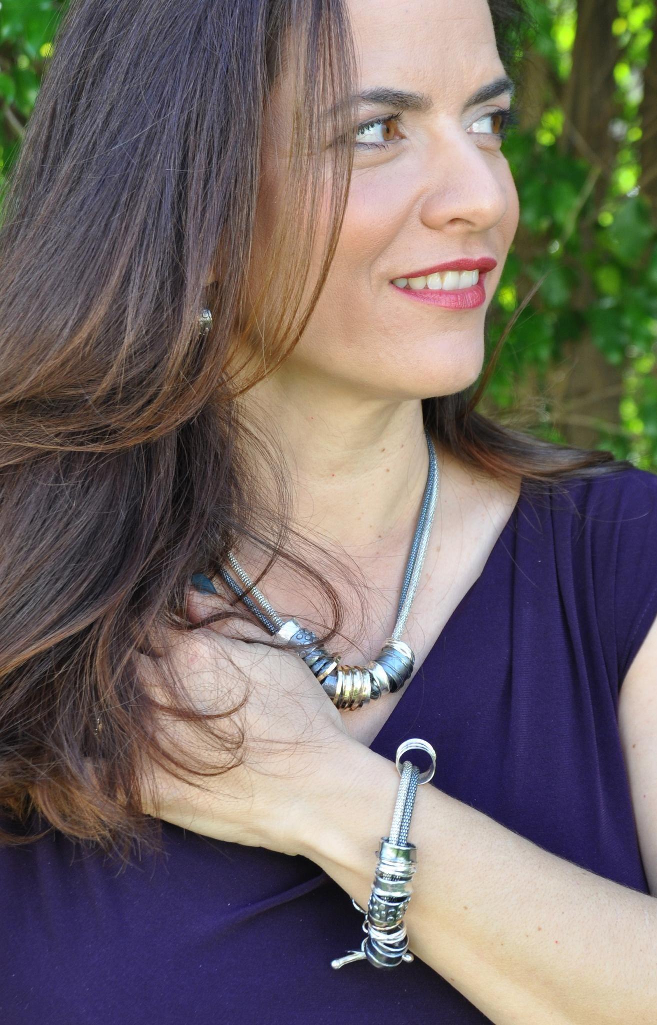 Dganit Hen silver jewellery
