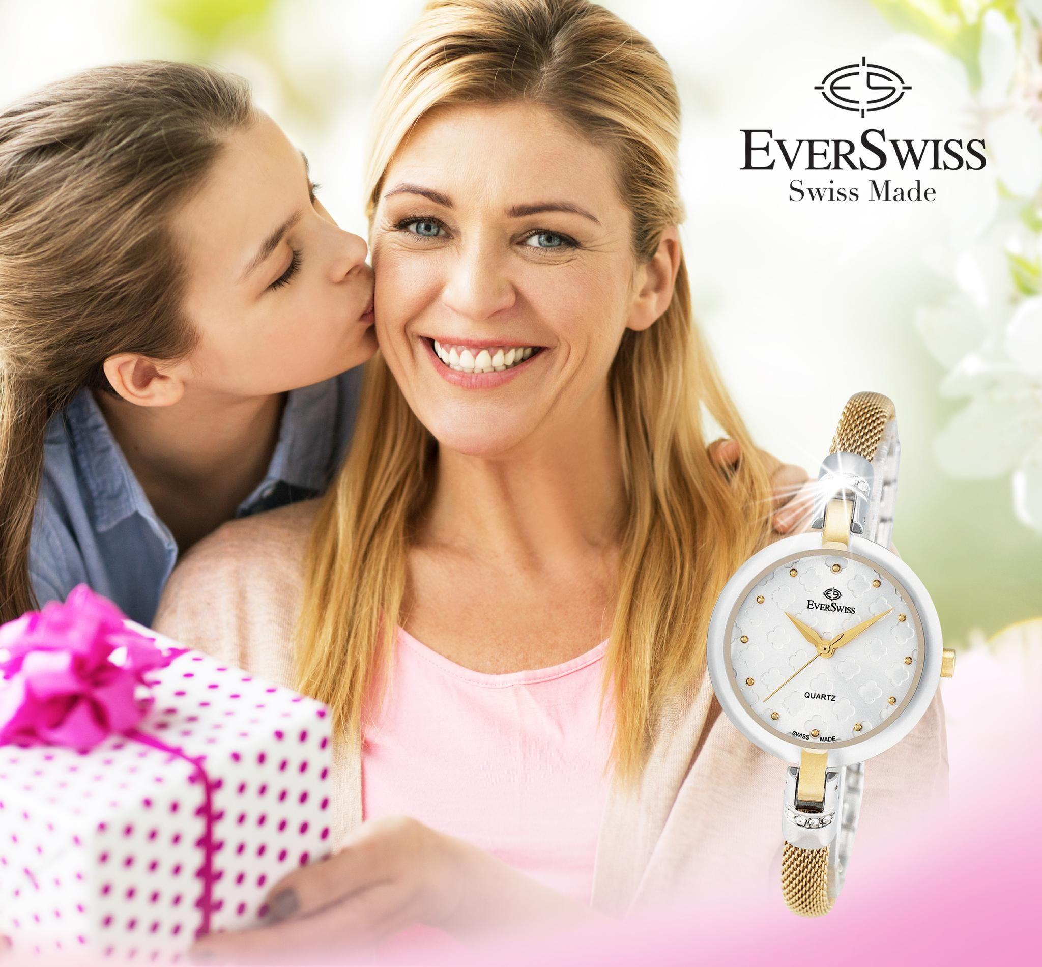 Ladies Swiss Made Quartz Watch
