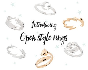 Open Ring Collection