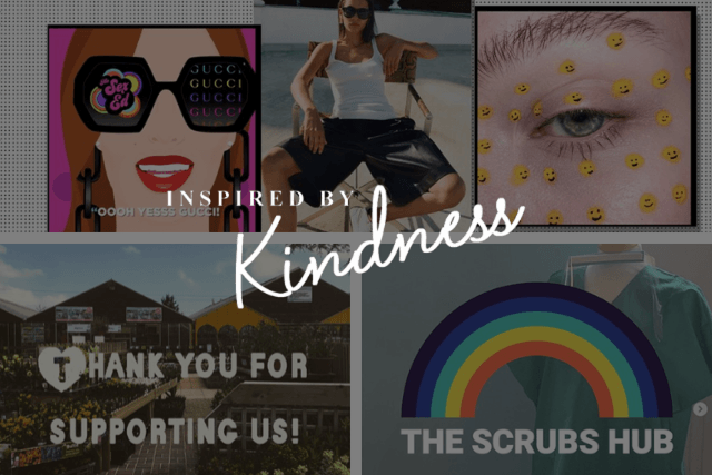 #InspiredByKindness: good news from the Moda community