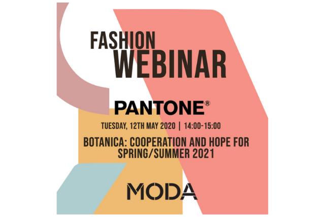 WEBINAR RECAP: Pantone Presents… Botanica: cooperation and hope for SS21