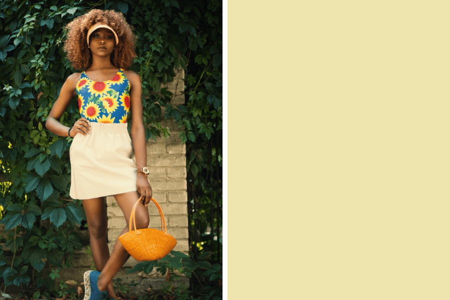 A festival of colour - colour trends for SS20 YELLOW