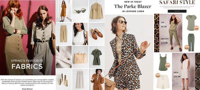 Safari Style Linen Womenswear