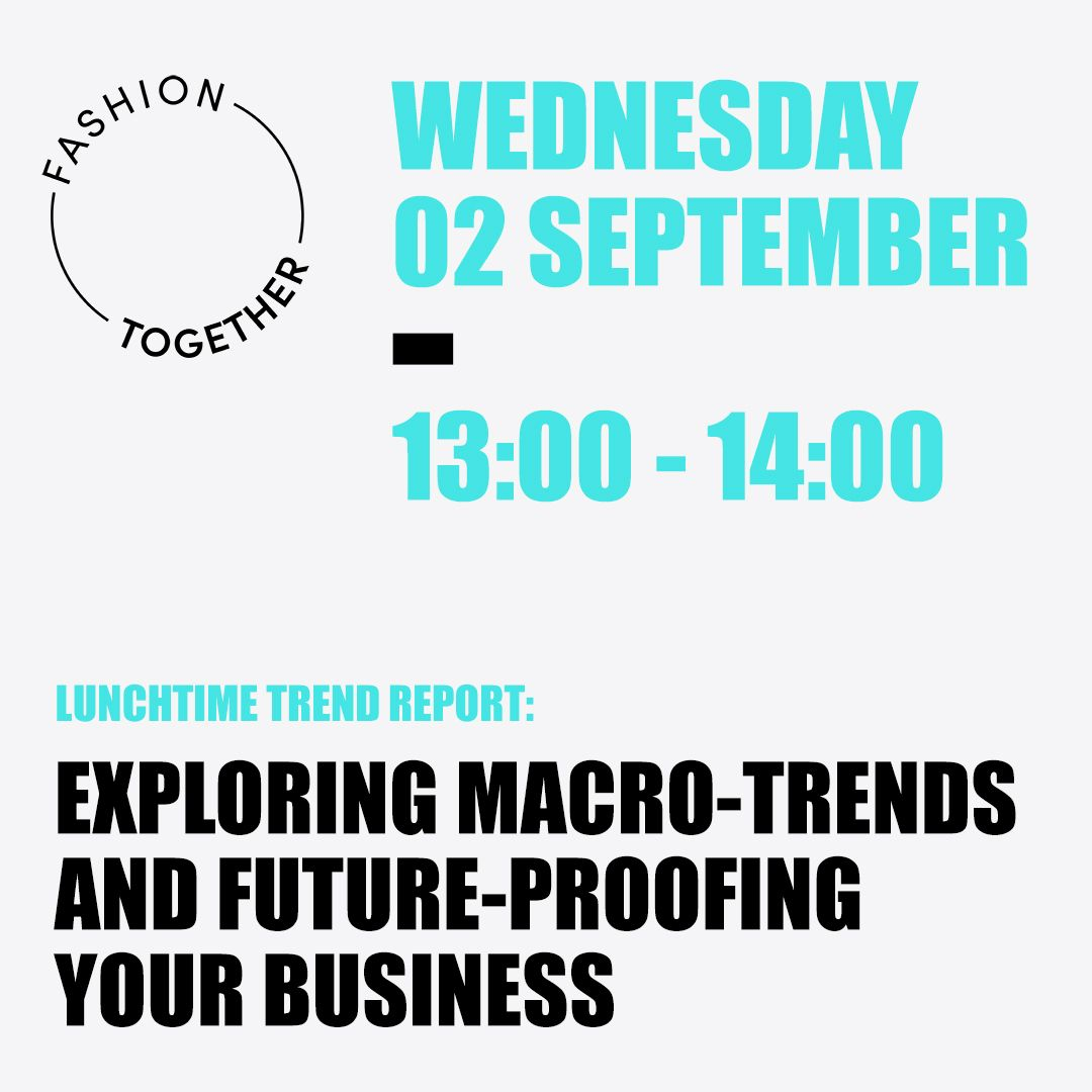 Fashion Together Wednesday Webinar Session