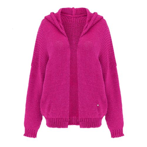 Akane short cardigan with hoddie