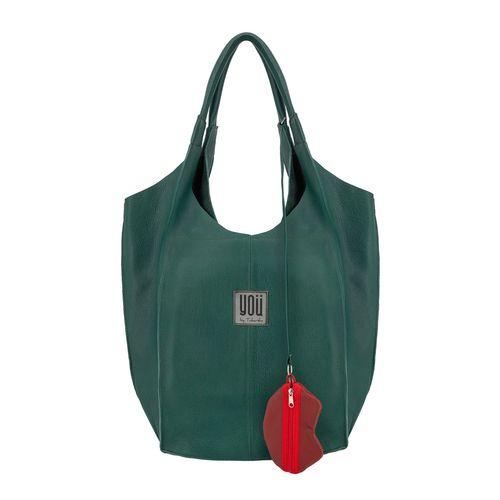 Leather handbag Malezja