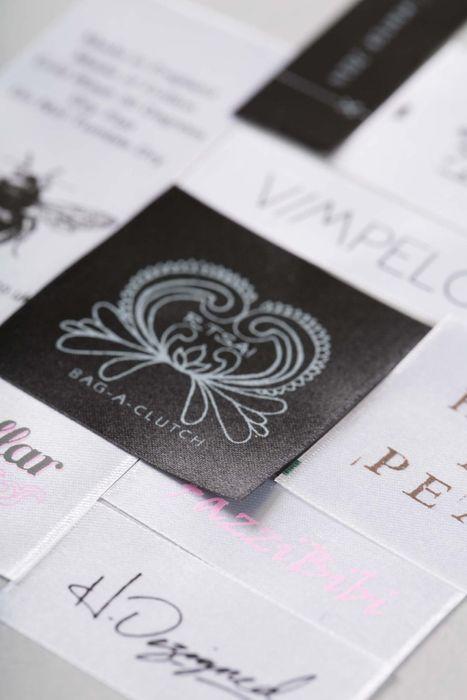 Custom Printed Satin Labels