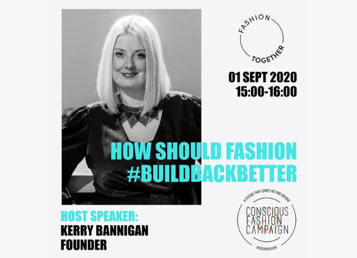 Building back better with Kering Group and Conscious Fashion Campaign