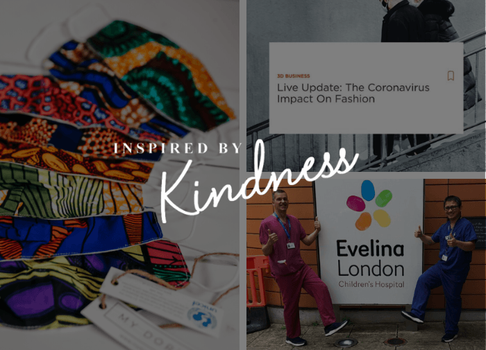 #InspiredByKindness: good news from our community