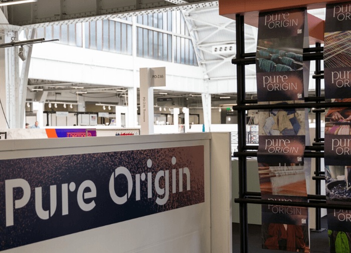 Pure Origin elevates Tech & Innovation section heralding it as vital to the future of fashion