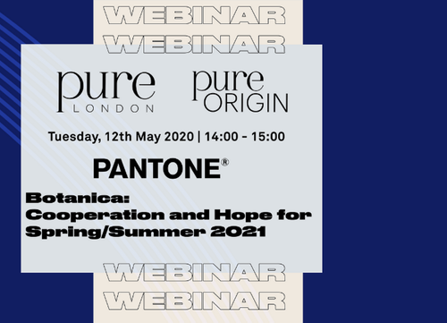WEBINAR RECAP: Pantone Presents… Botanica: cooperation and hope for SS21
