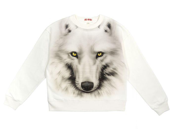 LOBO - Women's dropped shoulder sweatshirt