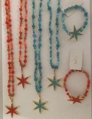 Loverocks summer shell and beads funky feeling