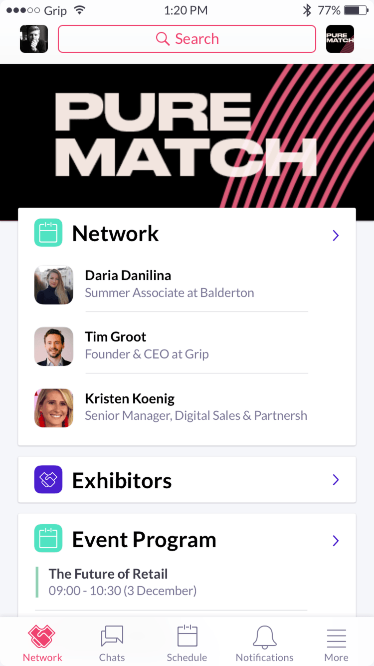 Networking App