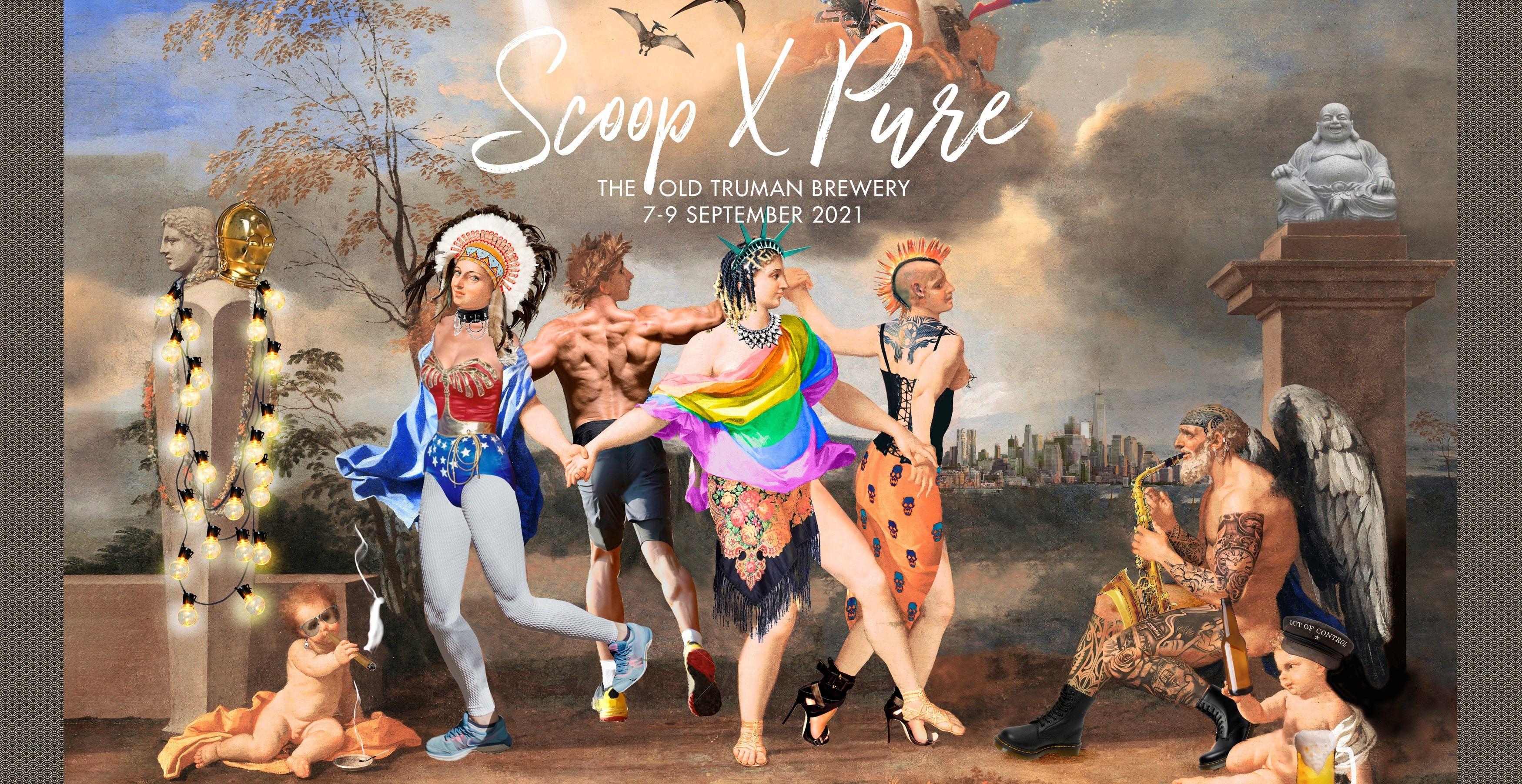 Scoop X Pure Banner