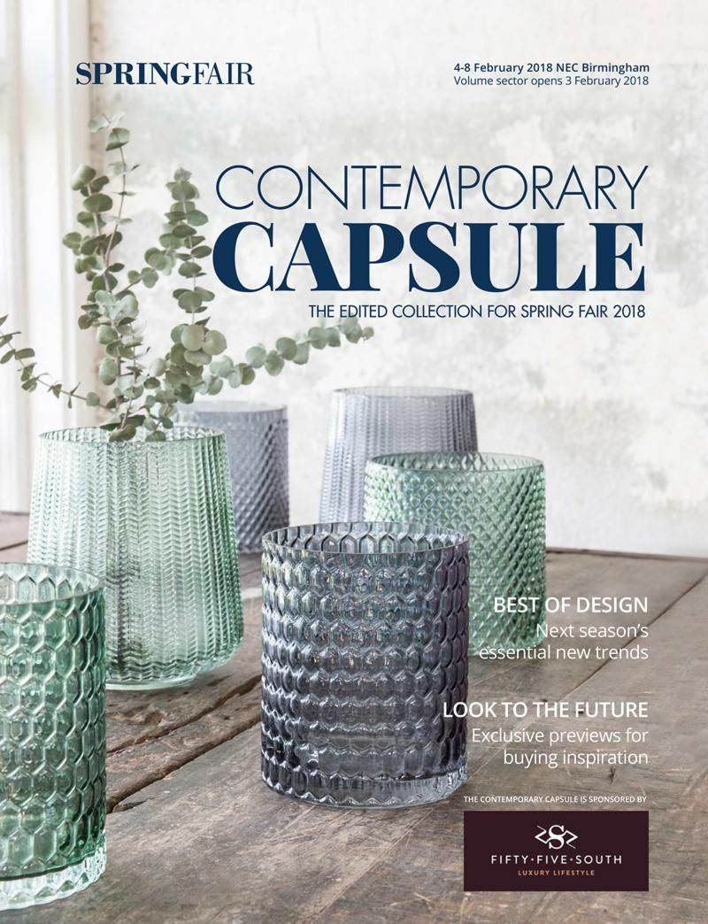 Contemporary-Capsule gift and homeware trends