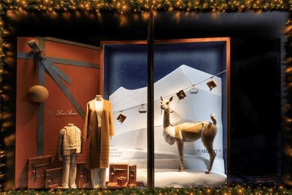 Harrods Christmas Window Displays