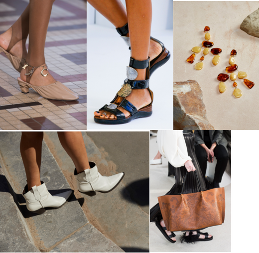Footwear and accessories