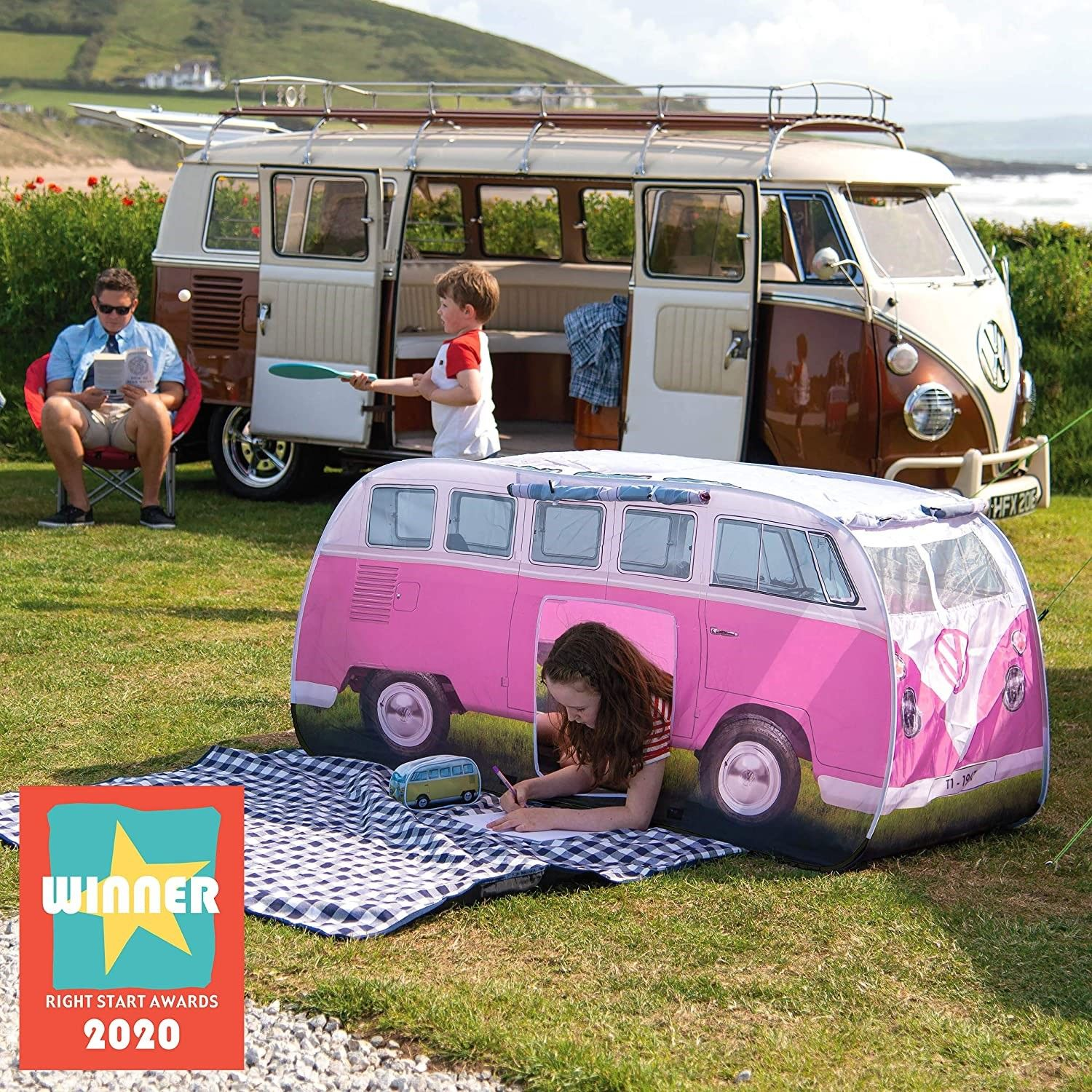 VW Camper van tent for children