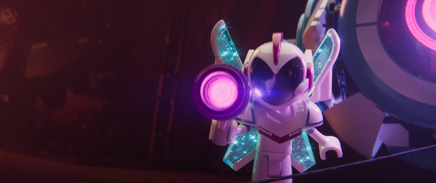 Funky looking new lego movie character