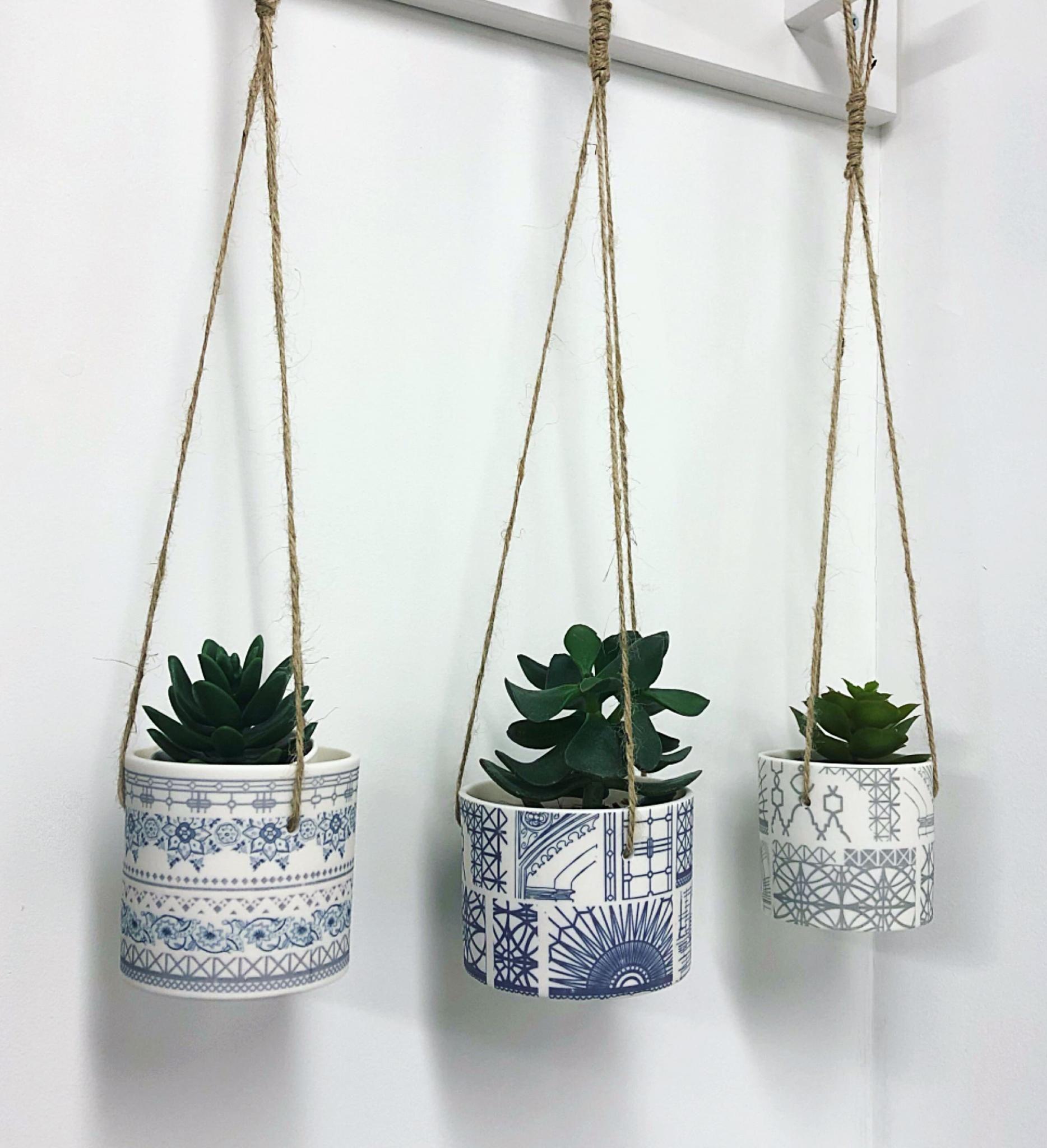 hanging ceramics