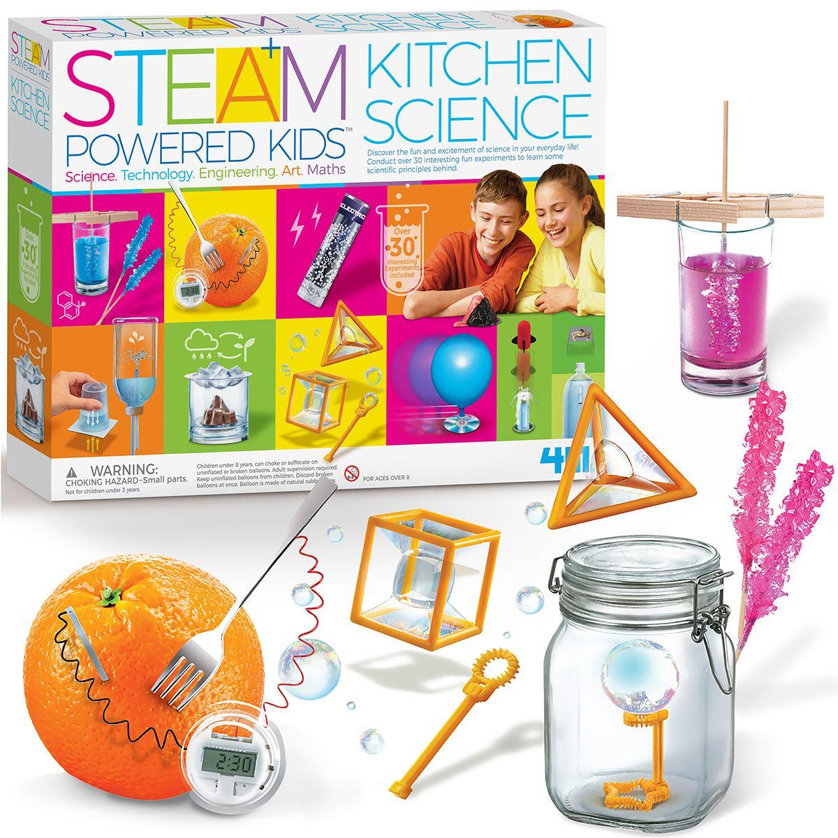 STEAM Powered Kids Deluxe Kitchen Science