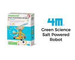 4M Green Science Salt Powered Robot