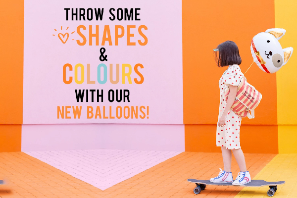 New, amazing foil balloons from PartyDeco