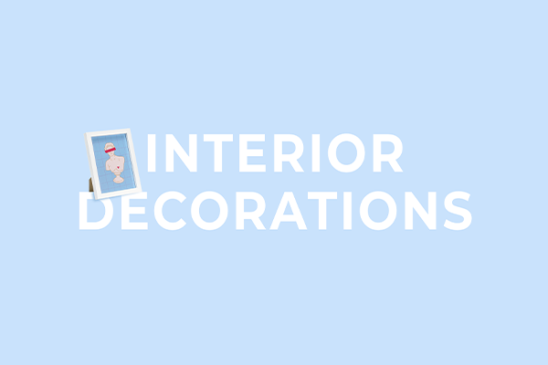 Interior decorations from PartyDeco