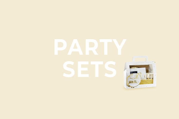 Party sets from PartyDeco