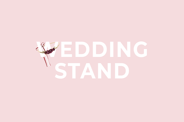 Wedding stand display from PartyDeco