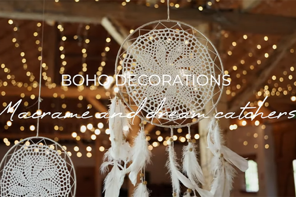 Boho decorations from PartyDeco