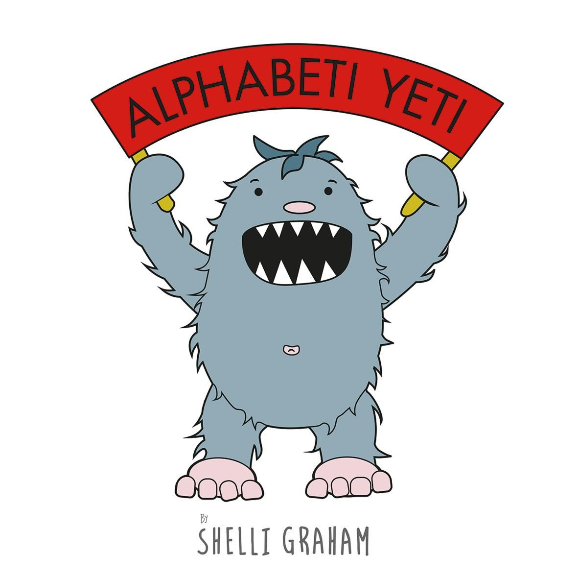 Alphabeti Yeti by Shelli Graham