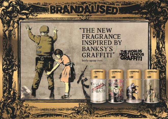 Banksy Graffiti perfumes