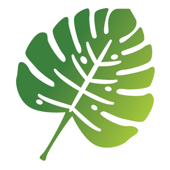 Sustainability Logo, a green leaf