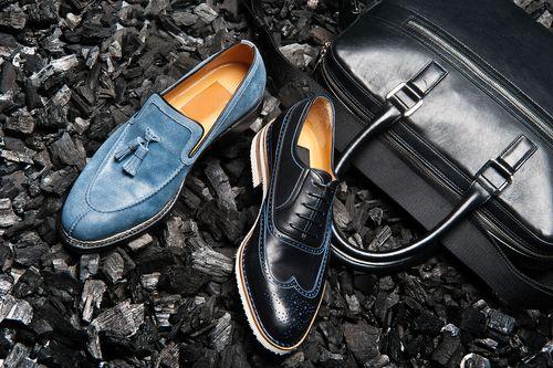 Stylish and Elegant Black Leather Men's Dress Shoes