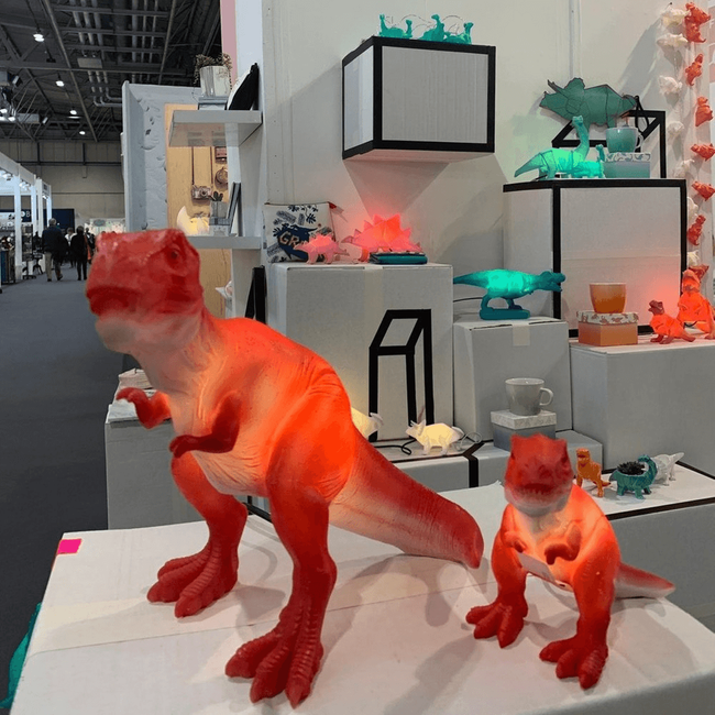 Are dinosaurs the next trend after unicorns and mermaids?