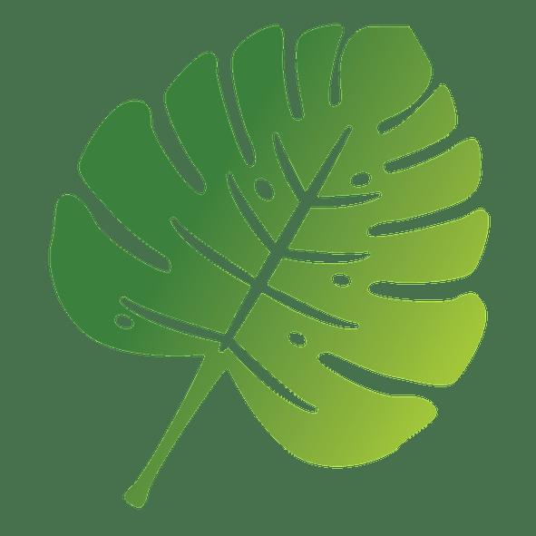 Sustainability Logo, a green leaf