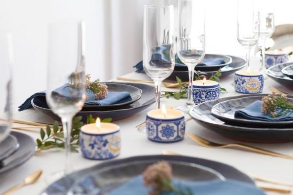 spring-fair-castelbel-gold-blue-candle-gift-set