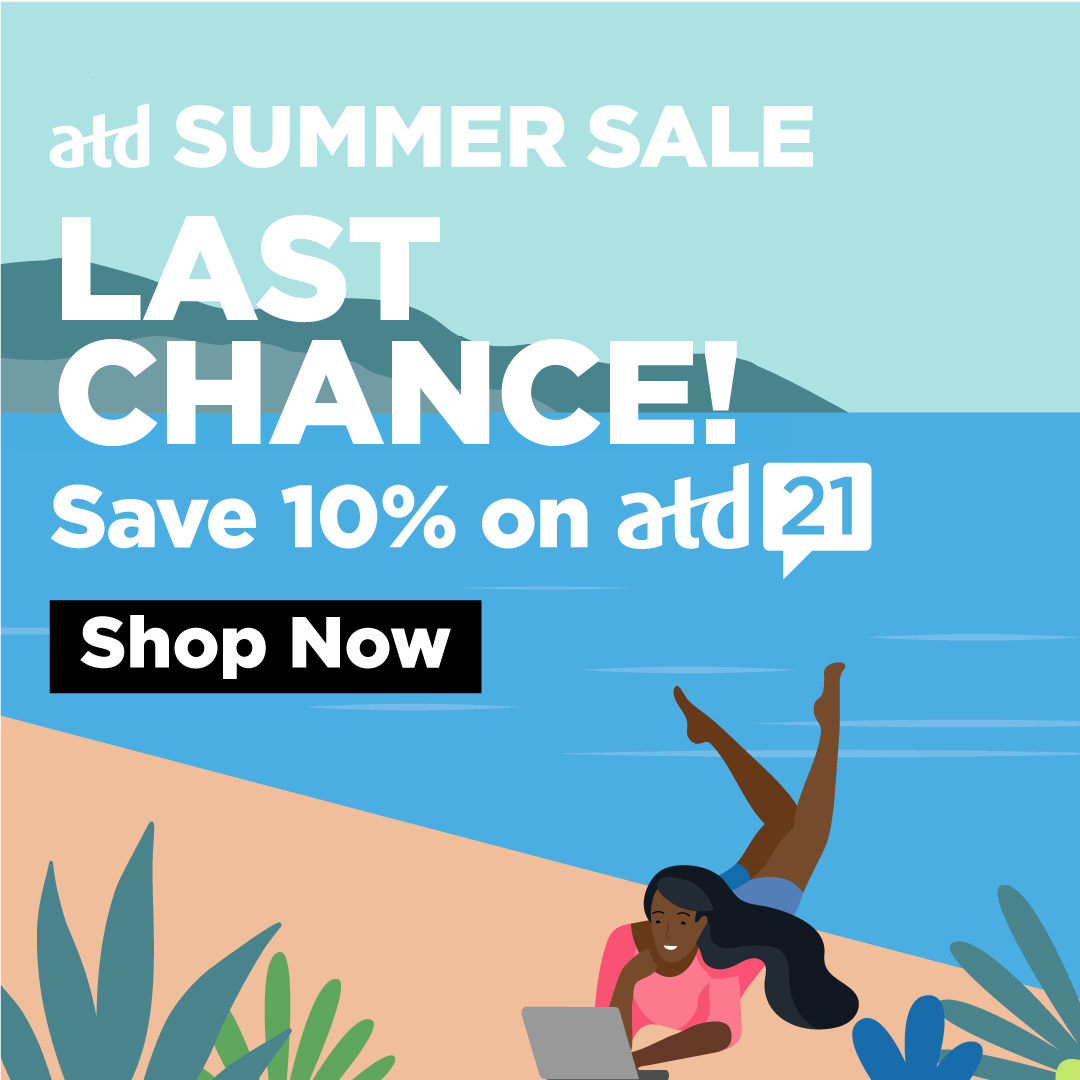 ATD Summer Sale