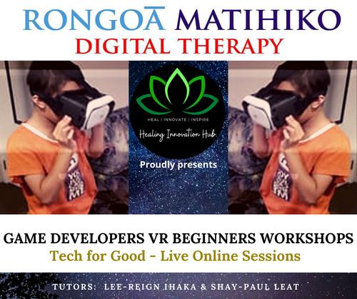 Rongoaa Matihiko - Digital Therapy workshops