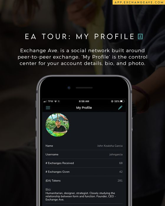 Exchange Ave. Mobile App