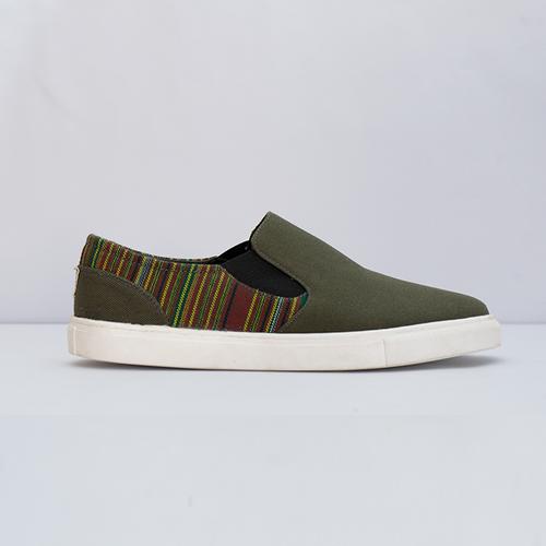 Mang Green Slipons