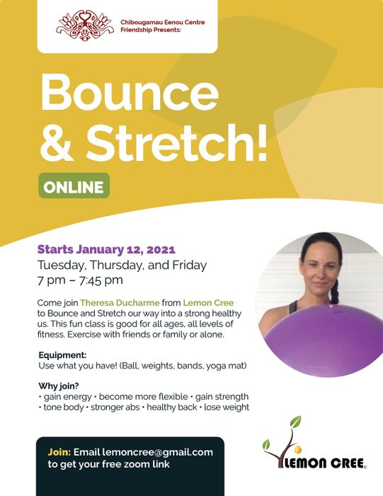 Online Free Workouts and Sharing Circles