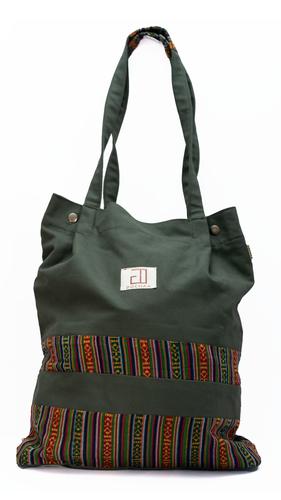 Bhutani Green Tote Bags
