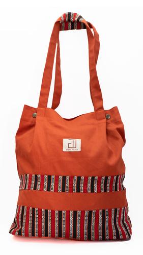 Bhutani Orange Tote Bag