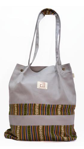 Bhutani Grey Tote Bag