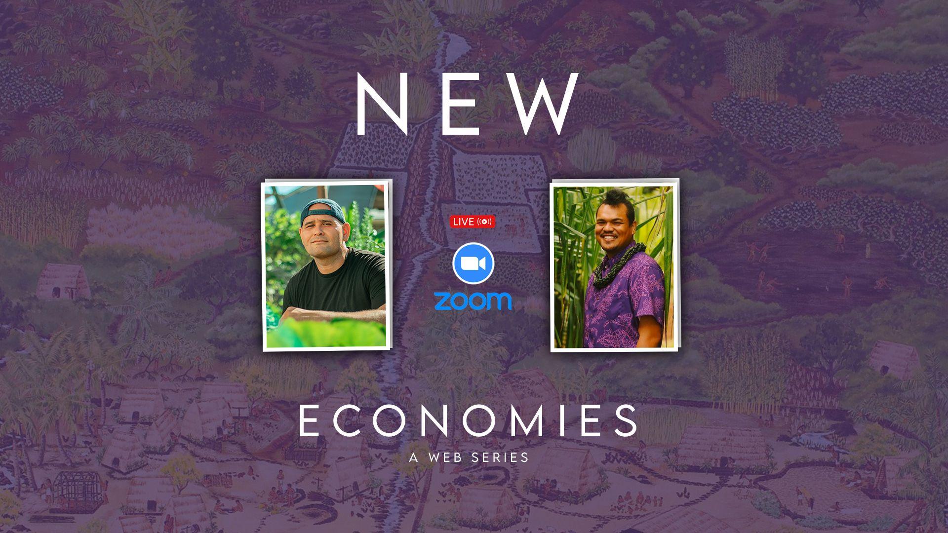 New Economies: Episode 001: Brandon Maka'awa'awa, Deputy Head of State, Nation of Hawaii