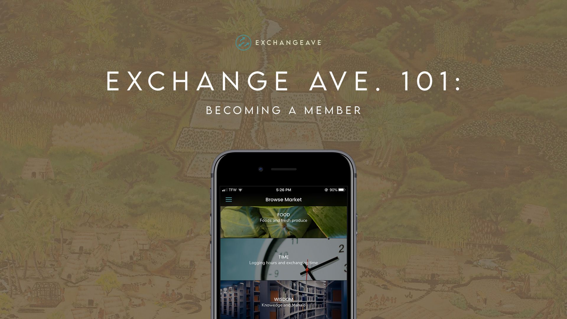 Exchange Ave. 101: Becoming a Member