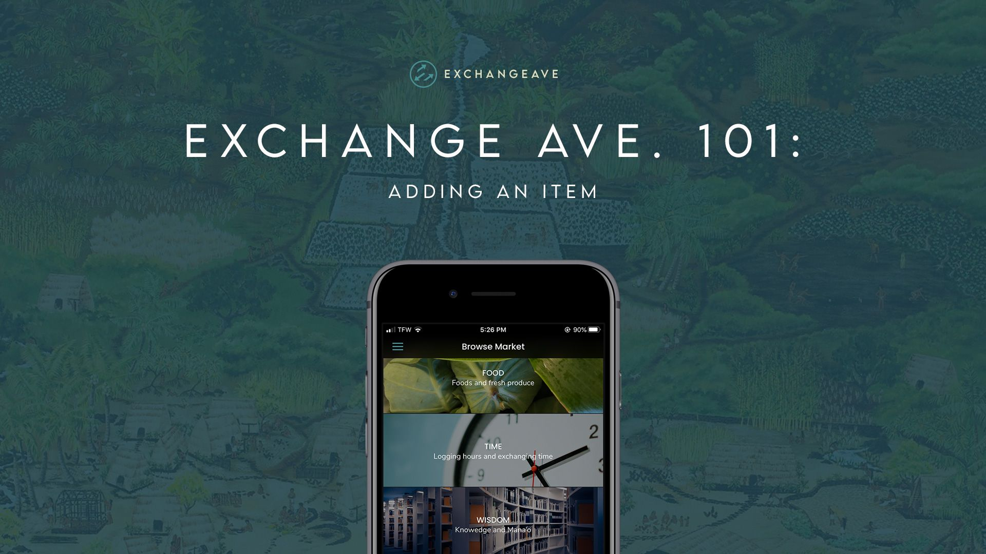 Exchange Ave. 101: Adding An Item